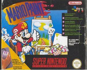 Mario Paint - SNES - NTSC-U (North America)