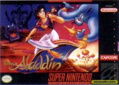 Aladdin - SNES - NTSC-U (North America)
