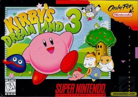 Kirby's Dream Land 3 - SNES - NTSC-U (North America)