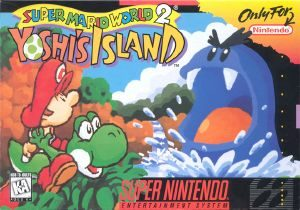 Super Mario World 2: Yoshi's Island - SNES - NTSC-U (North America)