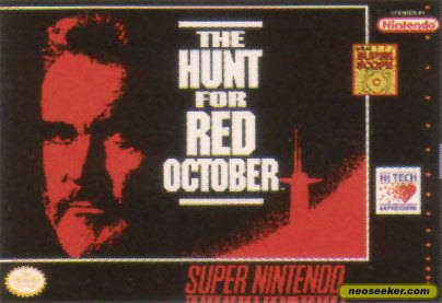 Hunt for Red October - SNES - NTSC-U (North America)