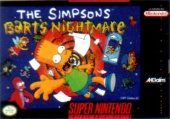Box shot of The Simpsons: Bart's Nightmare [North America]