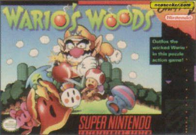 Wario's Woods - SNES - NTSC-U (North America)