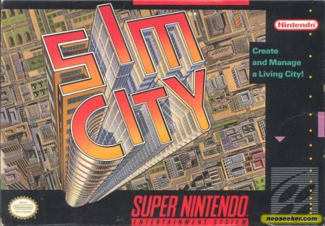 SimCity - SNES - NTSC-U (North America)