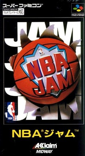 NBA Jam - SNES - NTSC-J (Japan)