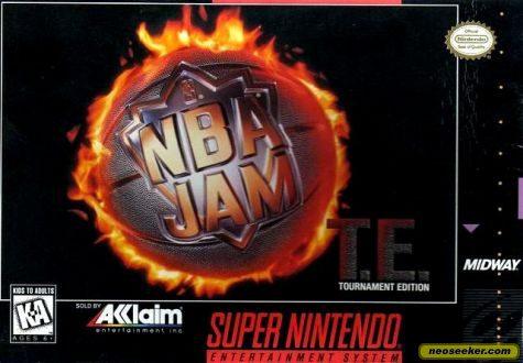 NBA Jam Tournament Edition - SNES - NTSC-U (North America)