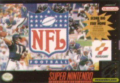 NFL Football - SNES - NTSC-U (North America)