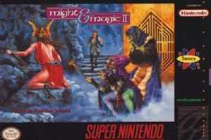 Might & Magic II - SNES - NTSC-U (North America)