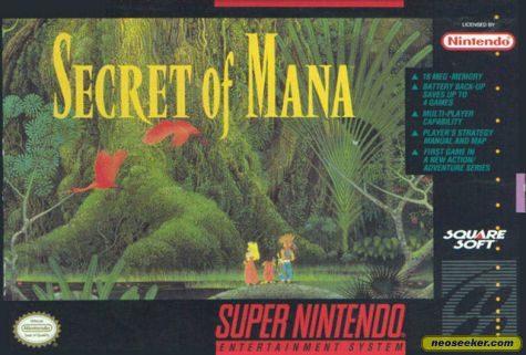 Mandala Secret of Mana Secret of Mana Walkthrough