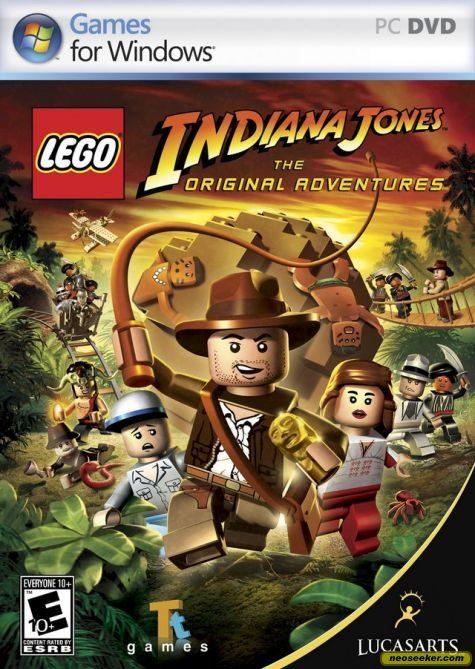 LEGO Indiana Jones: The Original Adventures - PC - NTSC-U (North America)