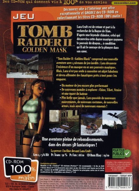 tomb raider 9. Tomb Raider II Gold - PC - PAL