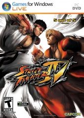 Street Fighter IV (North America Boxshot)