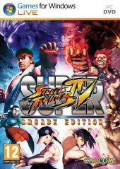 Box shot of Super Street Fighter IV Arcade Edition [North America]