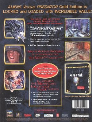 Aliens Versus Predator - PC - NTSC-U (North America)