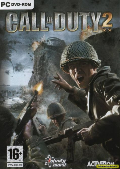 call of duty 8 cover. Call of Duty 2 - Front cover