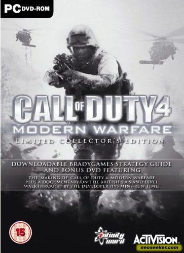 Call of Duty 4: Modern Warfare - PC - PAL (Europe)