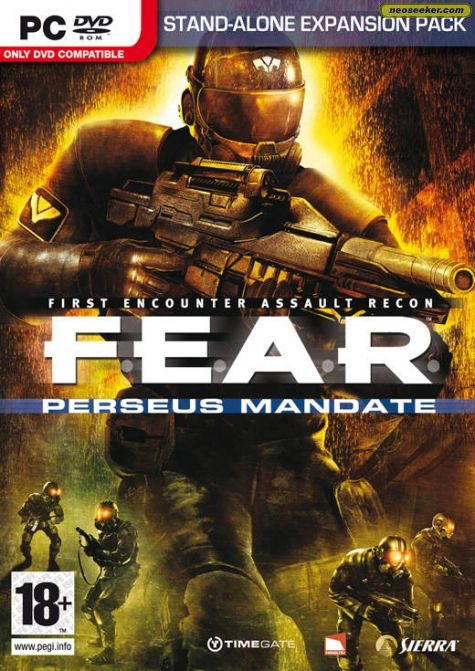 F.E.A.R. Perseus Mandate - PC - PAL (Europe)
