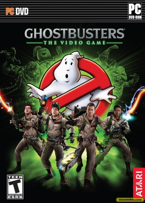Ghostbusters: The Video Game DVD Cover