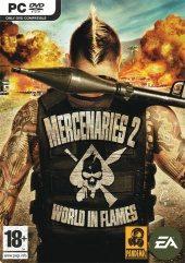 Box shot of Mercenaries 2 : World In Flames [Europe]