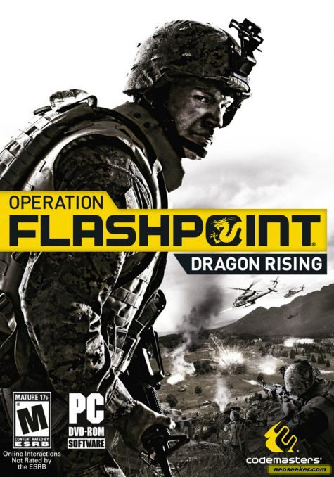Operation Flashpoint 2: Dragon Rising PC Game DVD Cover