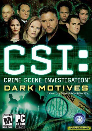 CSI: Dark Motives - PC - NTSC-U (North America)