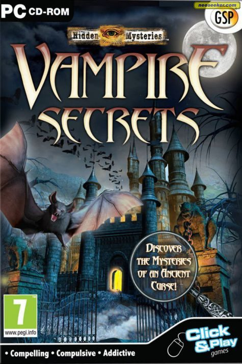 Hidden Mysteries: Vampire Secrets - PC - PAL (Europe)