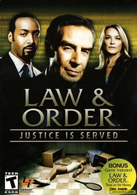 Law & Order: Justice Is Served - PC - NTSC-U (North America)