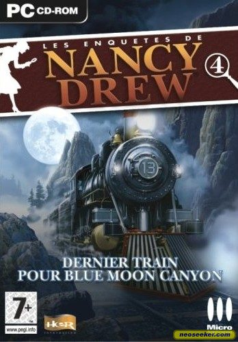 Nancy Drew: Last Train to Blue Moon Canyon - PC - PAL (Europe)