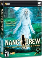 Box shot of Nancy Drew: The Haunting of Castle Malloy [North America]