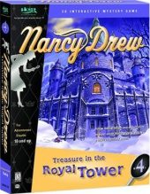 Nancy Drew: Treasure in a Royal Tower NTSC-U (North America) front boxshot