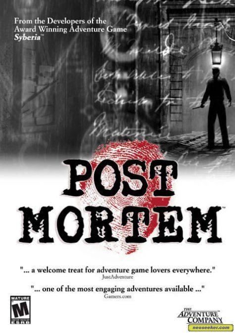 Post Mortem - PC - NTSC-U (North America)