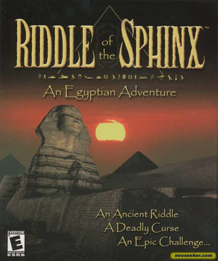 Riddle of the Sphinx - PC - NTSC-U (North America)