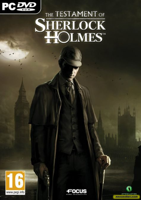 The Testament of Sherlock Holmes - PC - PAL (Europe)