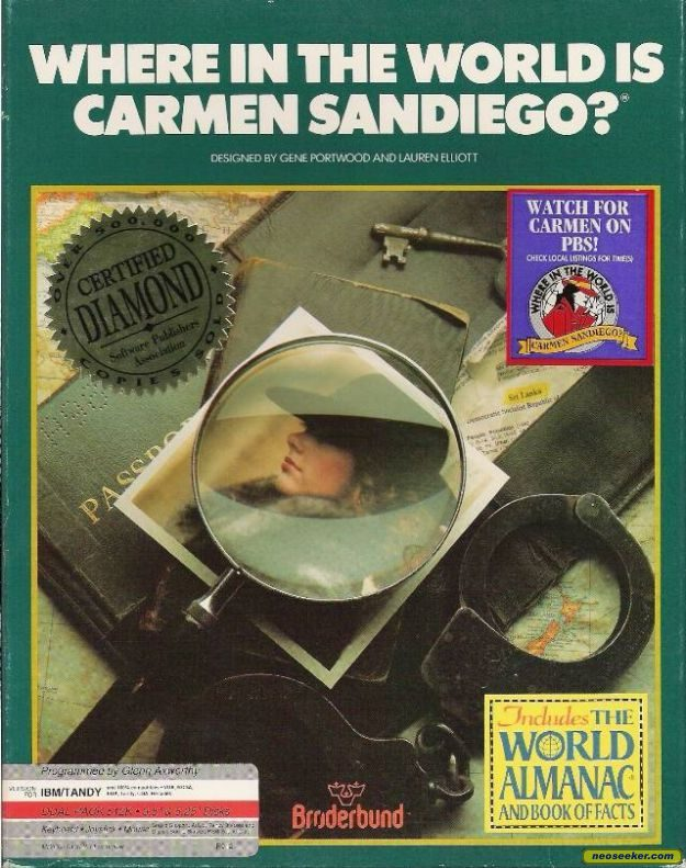 Where in the World is Carmen Sandiego? - PC - NTSC-U (North America)