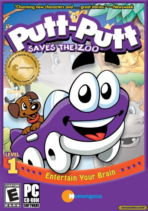 Putt-Putt Saves the Zoo - PC - NTSC-U (North America)