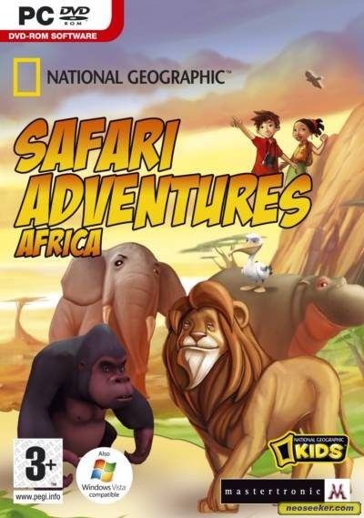 Safari Adventures Africa - PC - PAL (Europe)