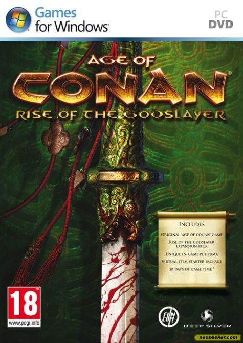 Age of Conan: Rise of the Godslayer - PC - PAL (Europe)