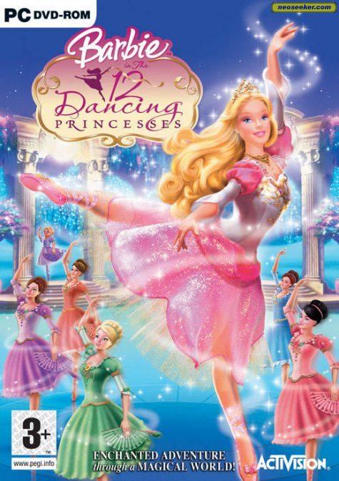 Barbie In The 12 Dancing Princesses - PC - PAL (Europe)