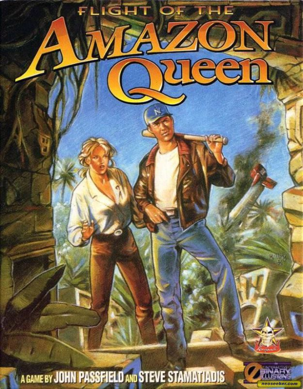 Flight of the Amazon Queen - PC - PAL (Europe)