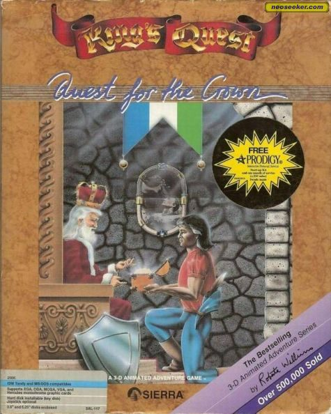King's Quest I: Quest for the Crown - PC - NTSC-U (North America)