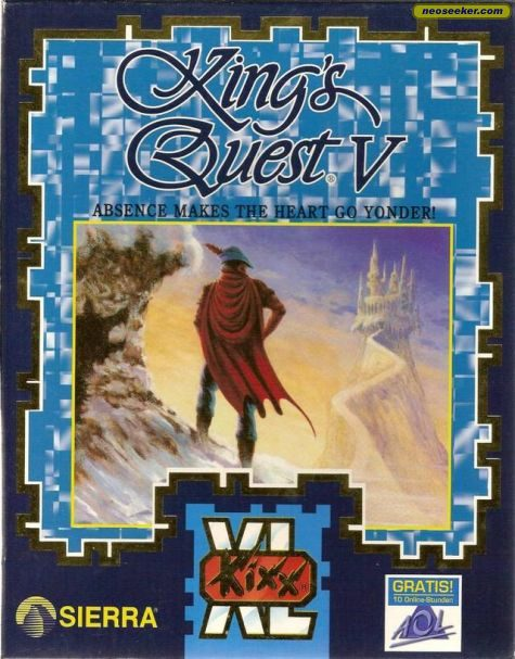 King's Quest V: Absence Makes The Heart Go Yonder - PC - PAL (Europe)