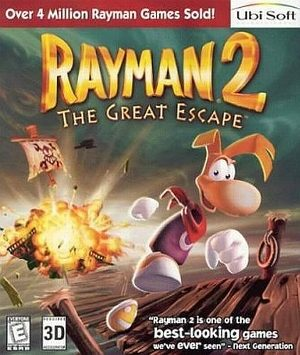 Rayman 2: The Great Escape - PC - NTSC-U (North America)