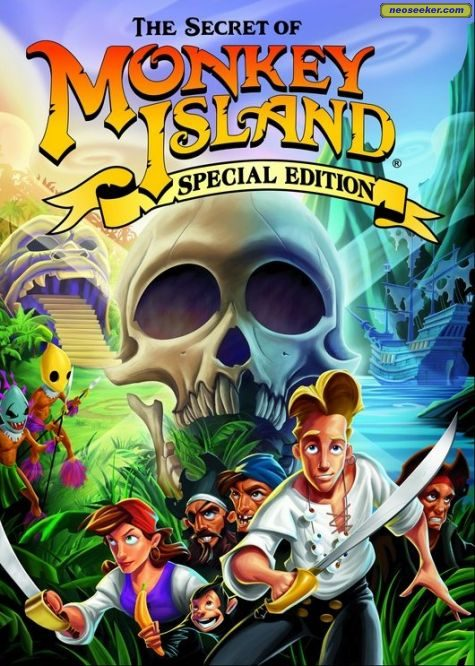 Secret of Monkey Island - PC - NTSC-U (North America)