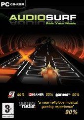 Box shot of Audiosurf [Europe]