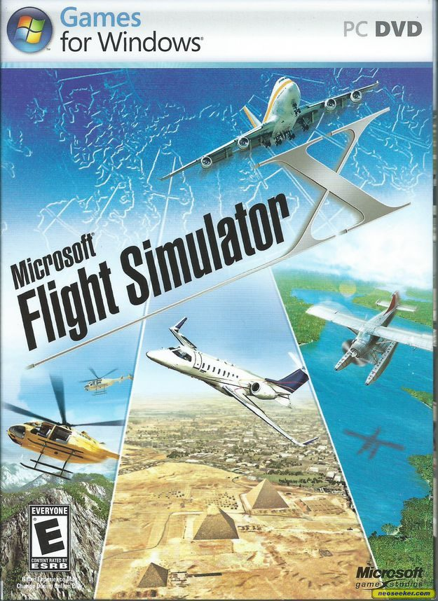 Pin Flight Simulator X Front Pc Game Cover on Pinterest
