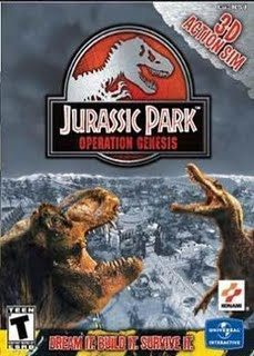 Jurassic Park: Operation Genesis PC Front cover