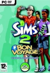 The Sims 2: Bon Voyage PAL (Europe) front boxshot