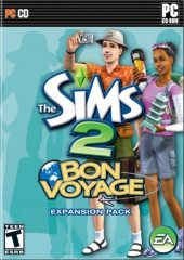 The Sims 2: Bon Voyage NTSC-U (North America) front boxshot