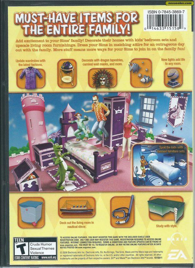 The Sims 2 Family Fun Stuff PC