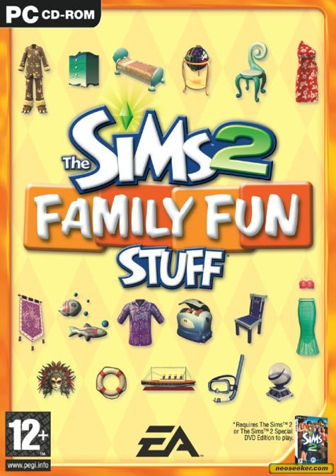 The Sims 2: Family Fun Stuff - PC -
